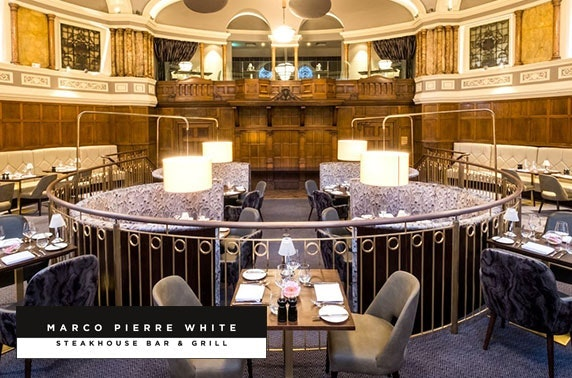 Marco Pierre White afternoon tea or dining, 4* Hotel Indigo Durham