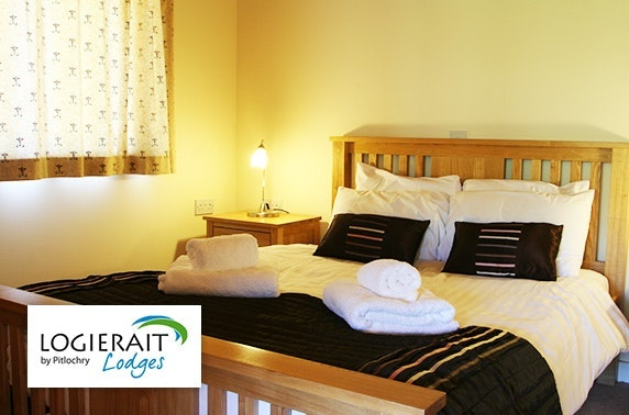 Logierait Lodges break – from £16pppn