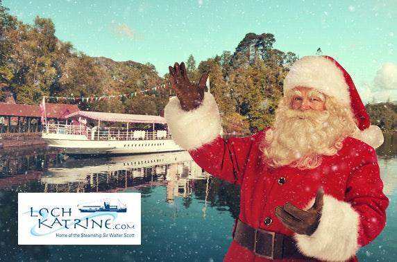 Sail with Santa at Loch Katrine