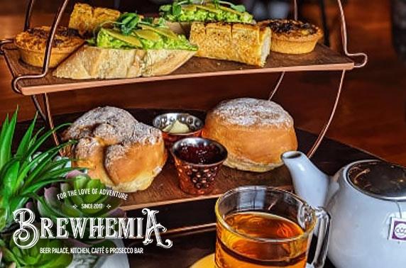 Brewhemia gentleman's afternoon tea