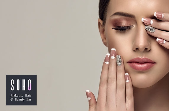 Shellac nails or lash & brow makeover - from £12