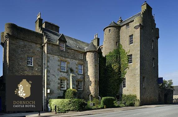 Dornoch Castle getaway, Sutherland