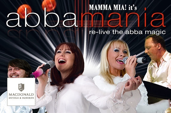 Abbamania tribute, 4* Macdonald Inchyra Hotel & Spa