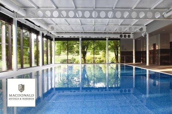 4* Macdonald Inchyra Hotel & Spa tribute & optional overnight stay