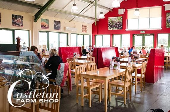 Castleton Farm Shop & Café dining - from £4pp
