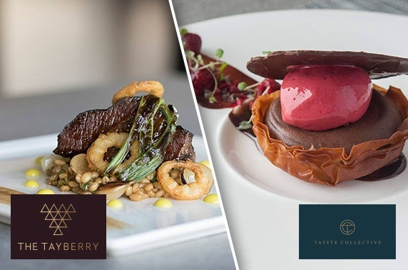 Michelin-recommended The Tayberry tasting menu