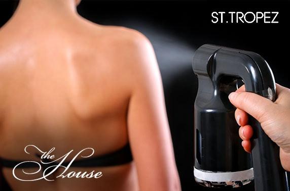 St Tropez spray tan, The House Spa