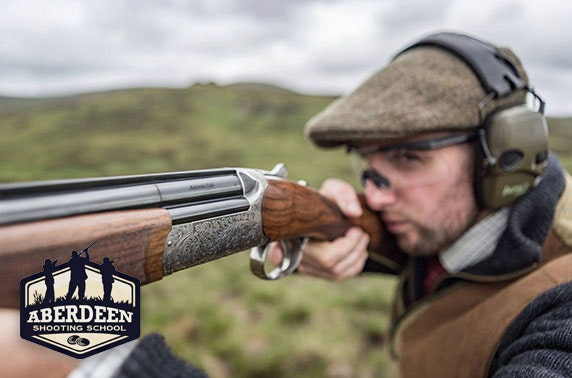 Shooting lessons at 5* Aberdeen Shooting School
