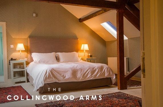 Romantic Northumberland getaway – from £75