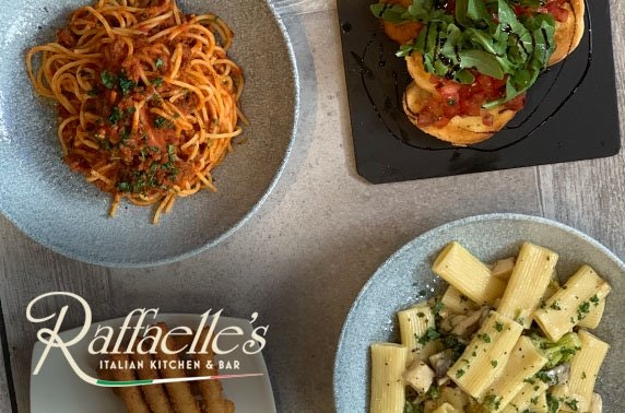 Dinner at Raffaelle's Italian Bar & Restaurant