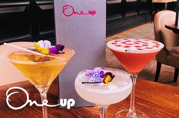 One Up cocktails & nibbles, Royal Exchange Square