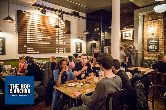 The Hop & Anchor dining