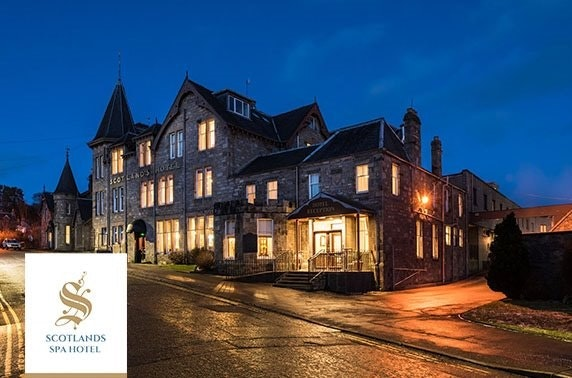 Pitlochry spa day - from £29pp