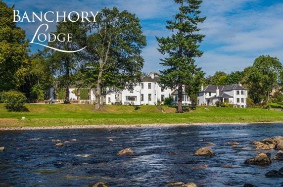 Stunning Banchory Lodge getaway