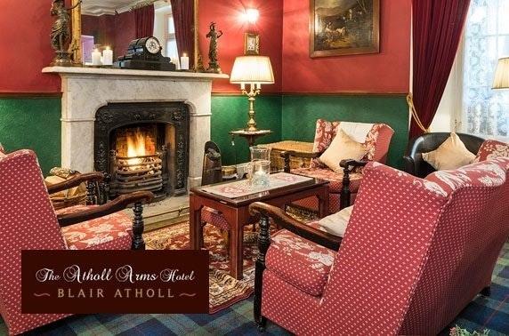 Atholl Arms Hotel stay, Blair Atholl