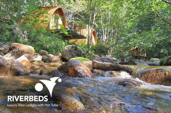 RiverBeds romantic getaway