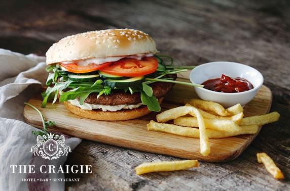 Burgers at The Craigie Hotel