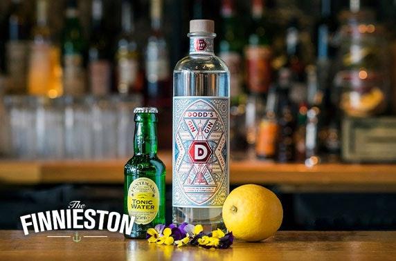 Award-winning The Finnieston gin tasting