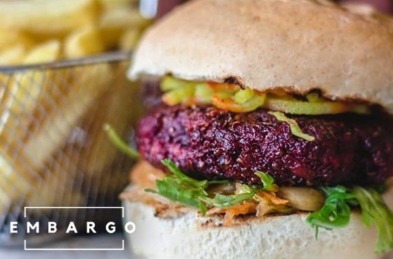 Burgers or ramen at Embargo