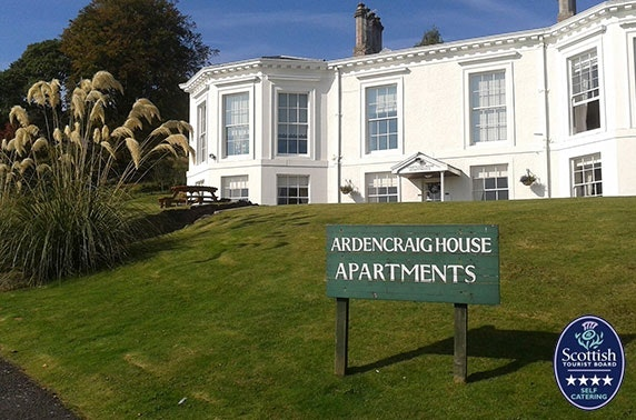 4* Isle of Bute apartments - from £9pppn