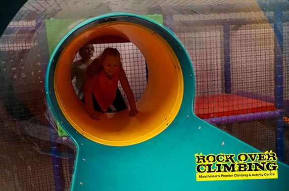 Keep the kids entertained with soft play entry at just £2pp!