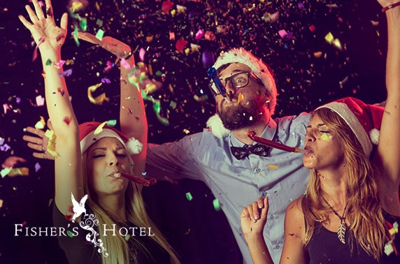 Fisher's Hotel Christmas party night & stay
