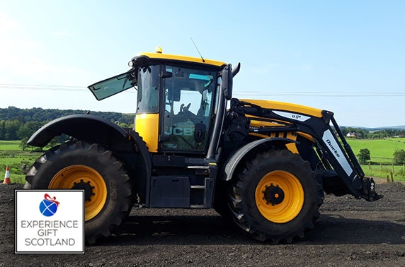 Tractor or tank driving experience