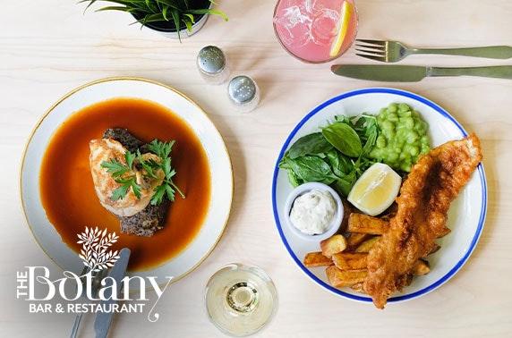 The Botany Bar & Restaurant dining
