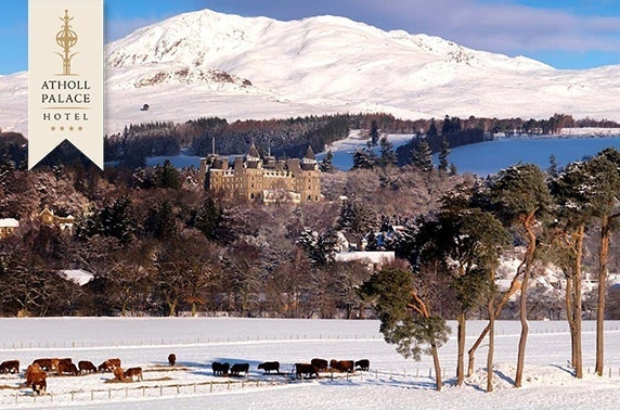 4* Atholl Palace stay, Pitlochry