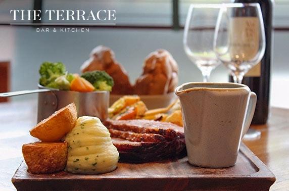The Terrace Bar & Kitchen Sunday roast