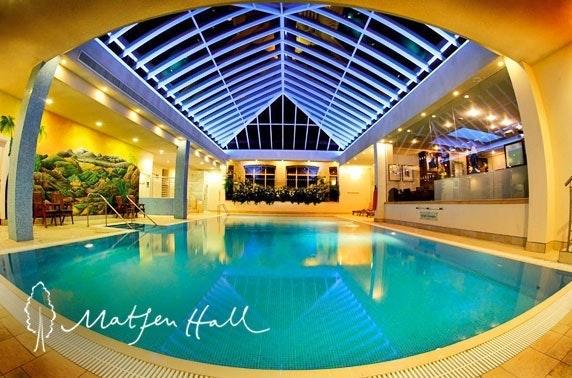Matfen Hall spa day