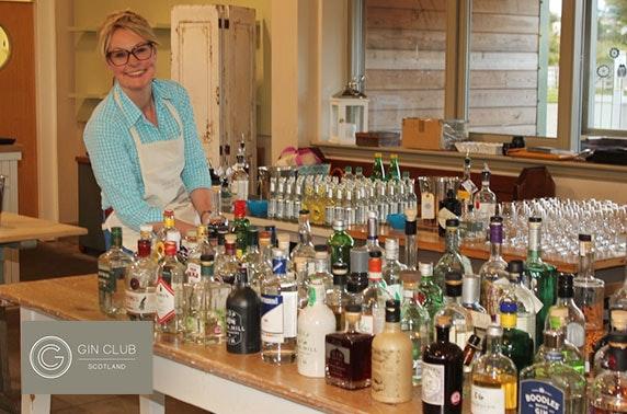 Gin Club Scotland tasting & masterclass
