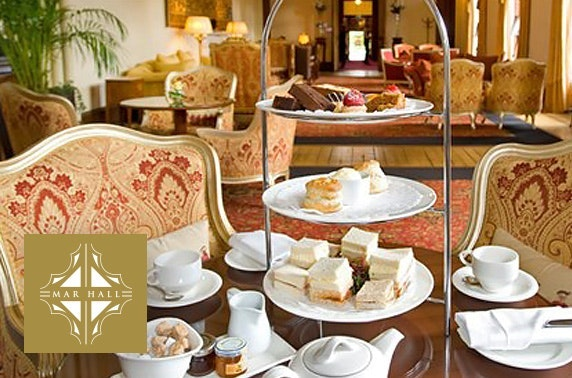 5* Mar Hall afternoon tea
