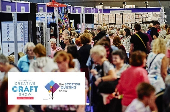 The Creative Craft Show and The Scottish Quilting Show, SEC
