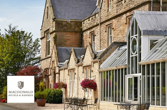 4* Macdonald Inchyra afternoon tea - valid 7 days