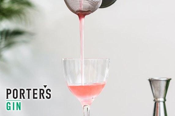 Porter's Gin distillery tour & tasting