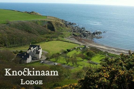 5* Portpatrick gourmet getaway