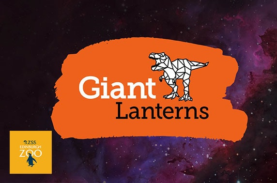 Giant Lanterns Lost Worlds at Edinburgh Zoo