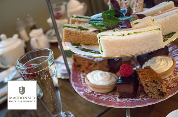 4* Macdonald Cardrona afternoon tea