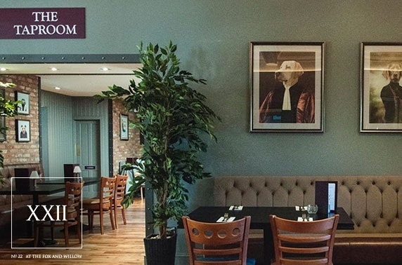 The Fox & Willow dining, Ayr