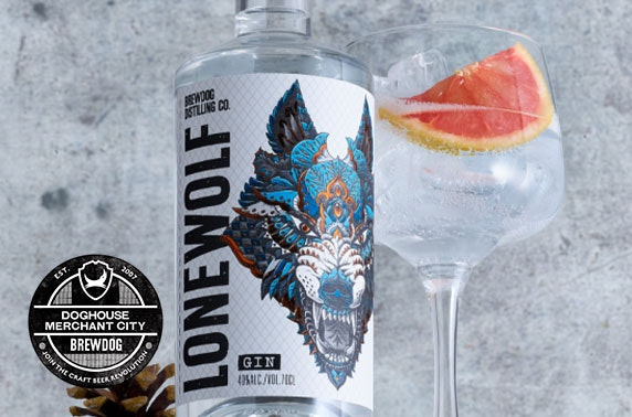 BrewDog gin flights & sharing platters, Merchant City