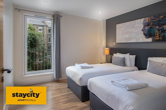 Edinburgh West End group stay - from under £18pppn