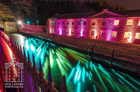 New Lanark light show tickets - from £4.50