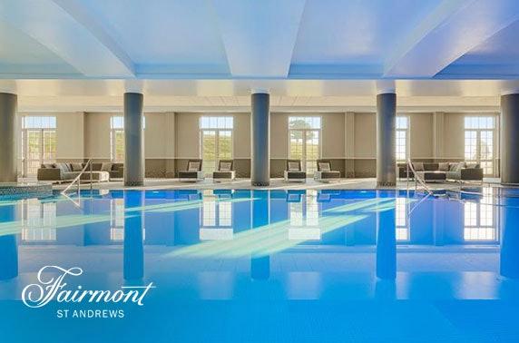 Luxury Fairmont St Andrews stay