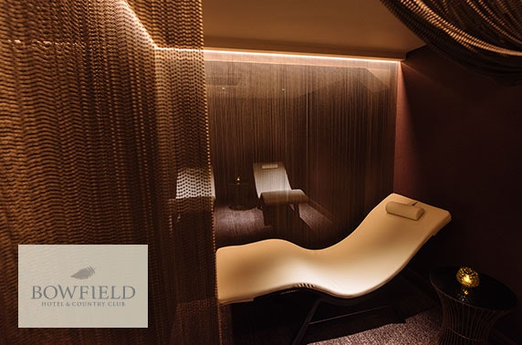 Bowfield Hotel spa day inc optional treatments