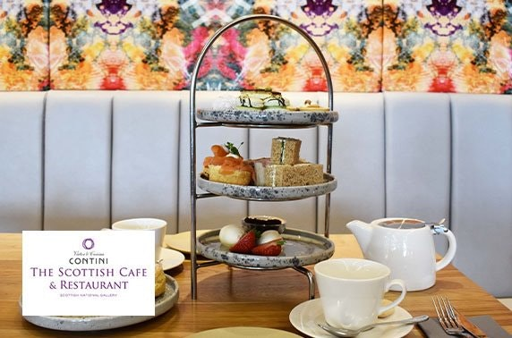 Afternoon tea, The Scottish National Gallery Café
