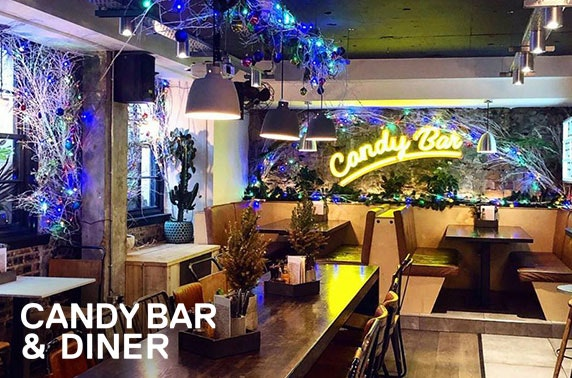 Candy Bar festive dining & drinks