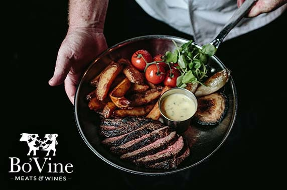 Chateaubriand at Bo'Vine, Byres Rd
