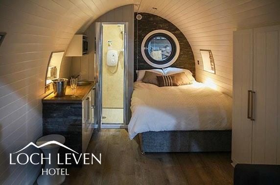 Loch Leven luxury pod stay