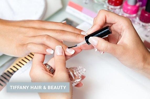 Tiffany Hair & Beauty treatments